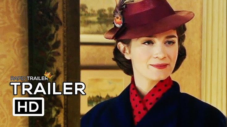 MARY POPPINS RETURNS Official Trailer (2018) Emily Blunt Disney Movie HD - YouTube