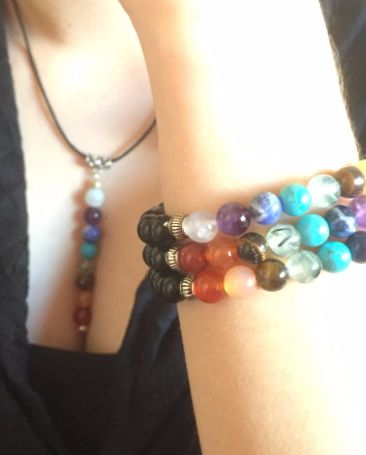 Chakra collection | Positively Charmed Bracelets and Jewels