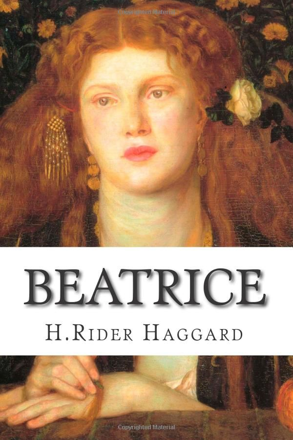 Beatrice: Amazon.co.uk: H.Rider Haggard: 9781505287233: Books: