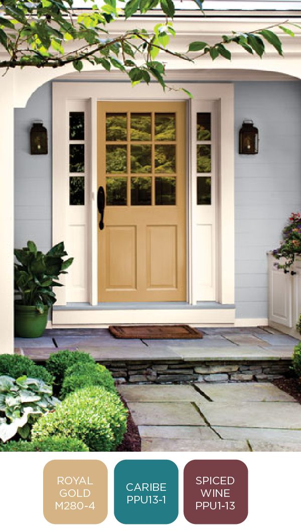 When It Comes To Updating The Exterior Of Your Home Nothing Adds Curb Appeal Quite Like A Pop