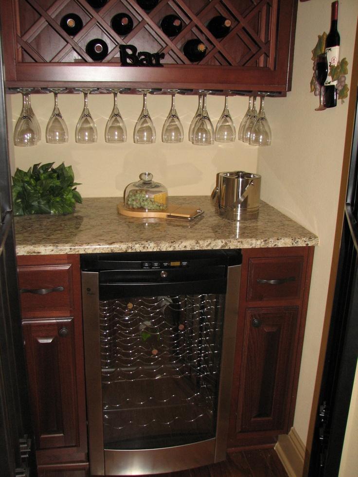 Trendmaker Homes Wine Bar In Cross Creek Ranch.