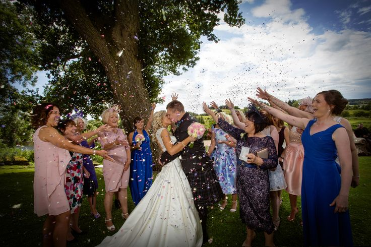 Fabulous confetti moment with Claire and Brian on their wedding day at Maryculter House Hotel #aberdeenweddingphotographersatmaryculterhousehotel #aberdeenweddingphotographeratmaryculterhousehotel #aberdeenweddingphotographyatmaryculterhousehotel #scottishweddingphotographyatmaryculterhousehotel #aberdeenshireweddingphotographeratmaryculterhousehotel #weddingatmaryculterhousehotel #maryculterhousehotel