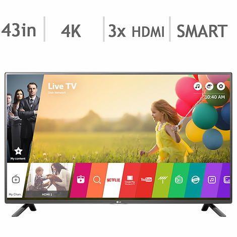 LG 43UH6100 43-in. Smart 4K Ultra HD LED TV