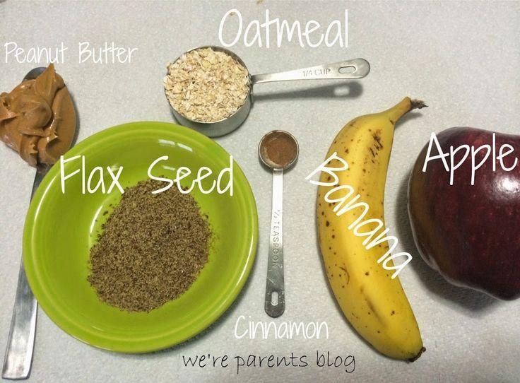 Lactation Boosting Peanut Butter Apple Pie Smoothie Recipe - We're Parents!?