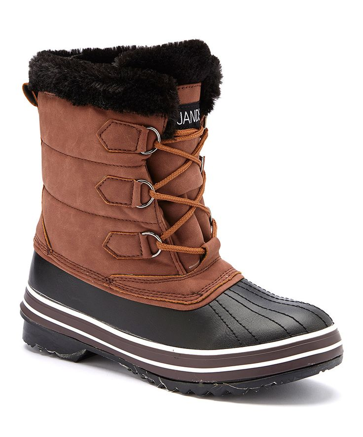 jands by transco brown black duck boot brown