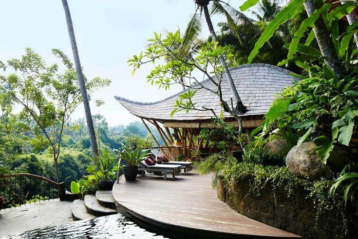 Indonéz szálloda levélformával | Hír.ma