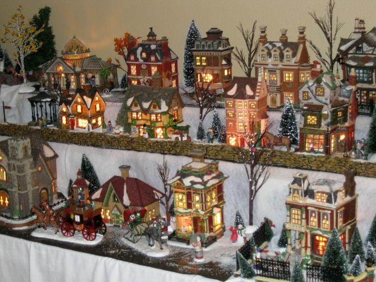 1000 images about my miniature christmas village on pinterest christmas villages putz houses - Decor village noel miniature ...