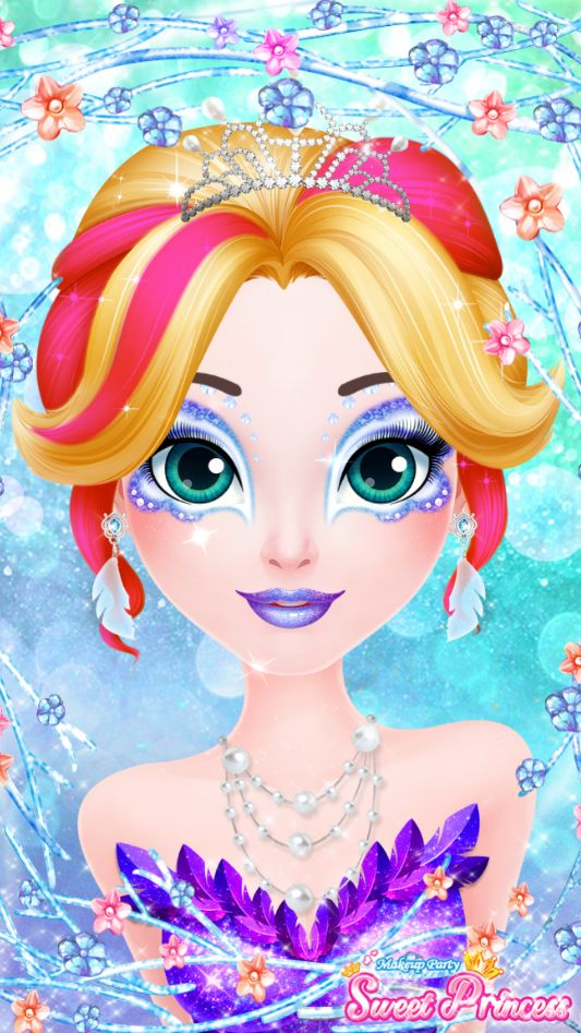 It's the funnest Girls game. Here is a link to Sweet Princess Makeup Party in the App Store.