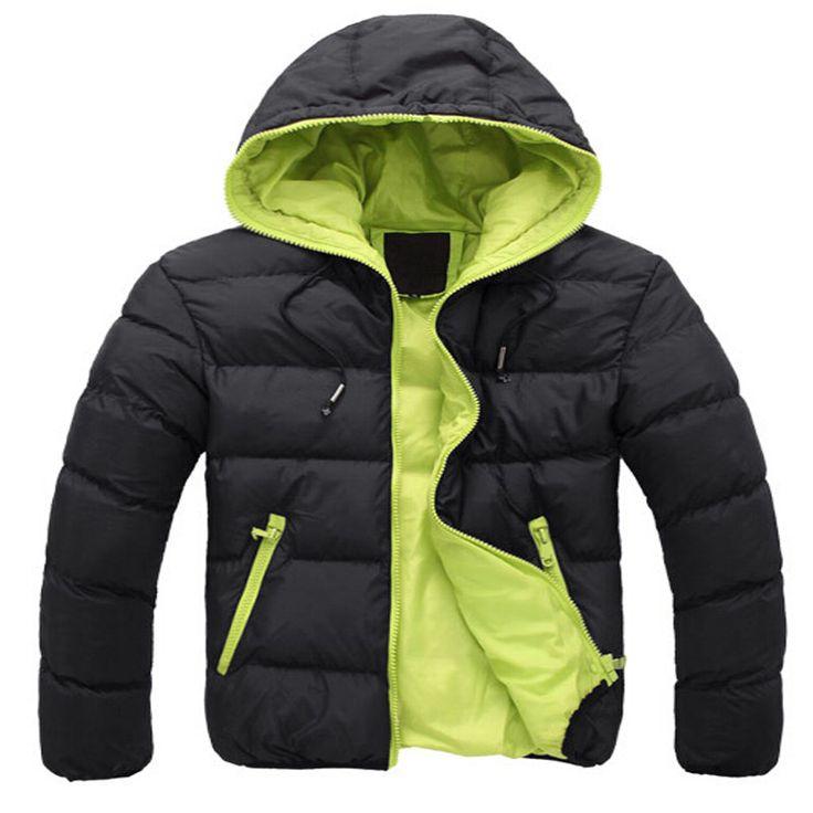 2015 новые люди зимнюю куртку с капюшоном ватным пальто верхней одежды мужской тонкий свободного покроя хлопок на открытом воздухе и пиджаки горячая распродажа