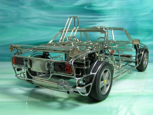 Wire skeleton models: 1/16 Fiat X1/9 s/n 201021 work by ちゃりさん https://clubscuderiaitalianafiatx19.blogspot.it/2017/04/wire-skeleton-models-116-fiat-x19-sn.html#more