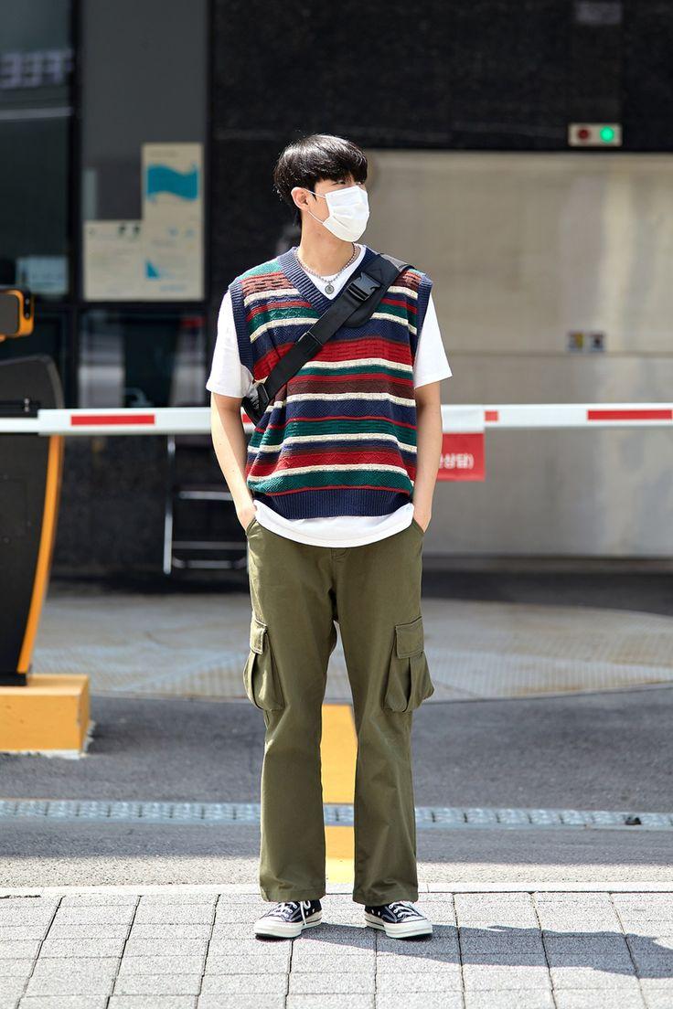 Street Fashion Men's Style in Seoul August 2020 - écheveau