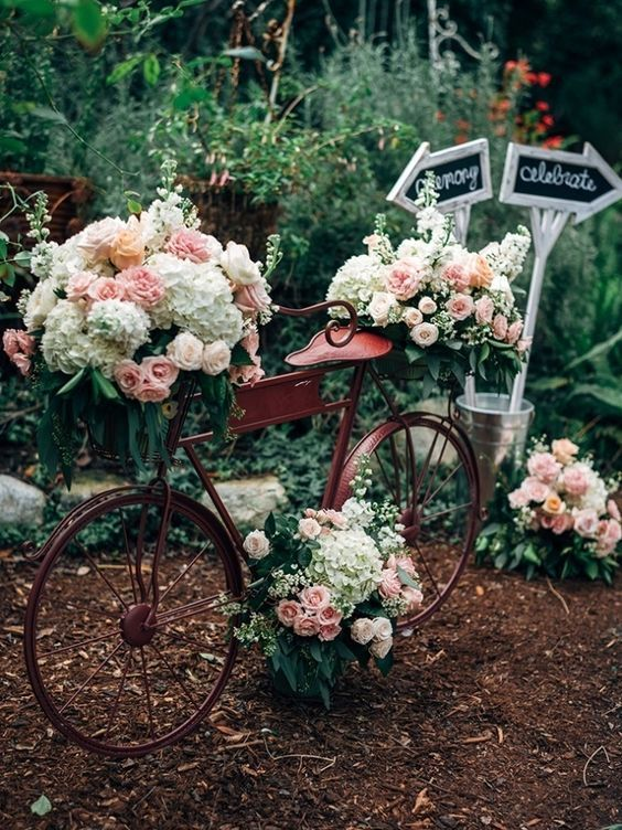 Best Bicycle Wedding Ideas On Pinterest Vintage Party Daisy