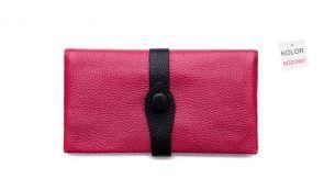 śliczny kopertowy portfel