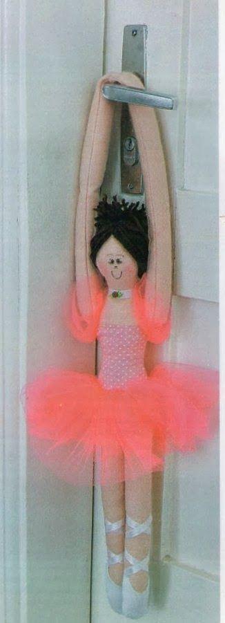Mimin Dolls: bailarina - - free pattern - tutorial - Bildanleitung