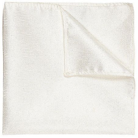 $12, River Island White Pocket Square. Sold by River Island. Click for more info: https://lookastic.com/men/shop_items/219775/redirect