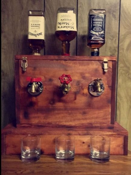 how to make a whiskey dispenser