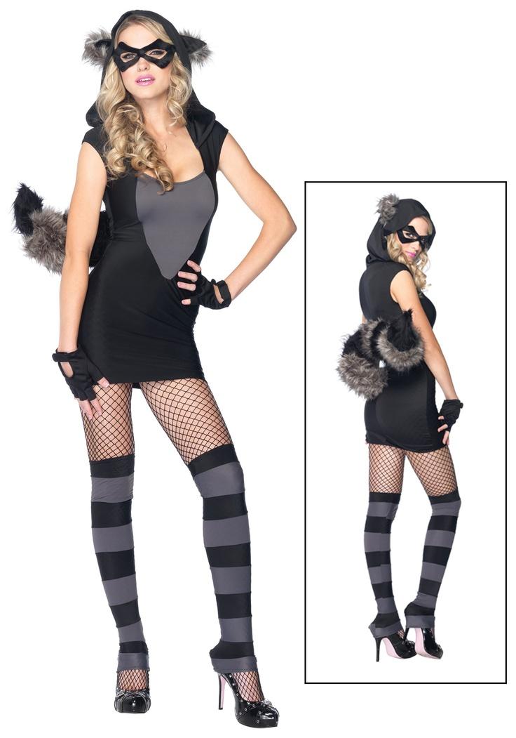 13 best raccoon costume images on pinterest raccoons carnivals raccoon costumelooks easy to diy solutioingenieria Gallery