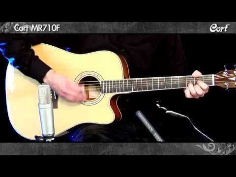 Cort MR710F Acoustic Guitar With Integrated Fishman Amplification