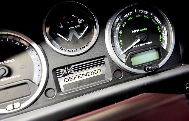 Dash of distinction Overfinch Defender 90