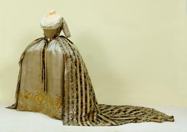 Ekaterina Pavlovna's dress, late 1780's