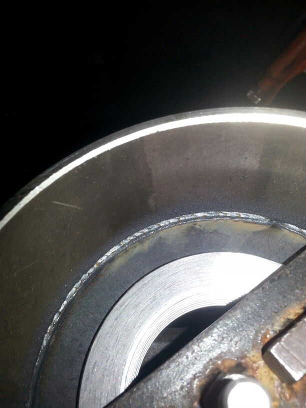 Complete penetration welds