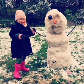 Instagram photo by jonathanjoly - Do you want to build a snowman! #sacconejolys #emiliatommasina #olaf