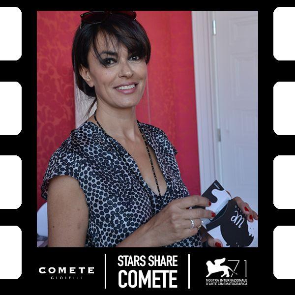 Maria Grazia Cucinotta #CometeGioielli #Venezia71