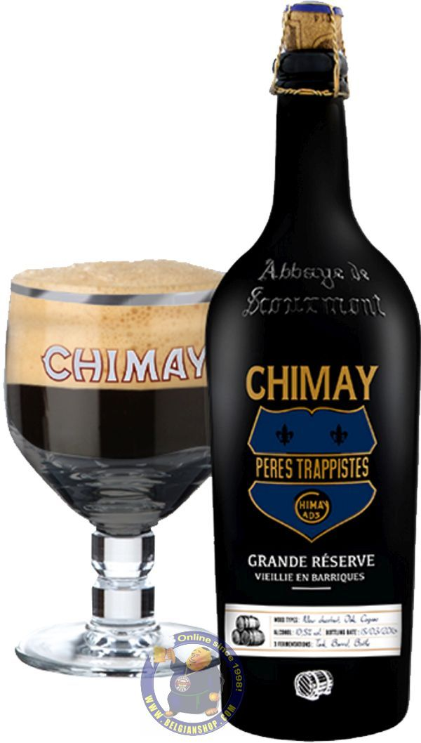 """Our New Beer: The Chimay """"Grande Réserve"""" Barrel Aged - Rum 2017  Available at http://store.belgianshop.com/trappist-beers/2018-the-grande-reserve-barrel-aged-rum-2017-34l.html   Chimay is presenting its new edition of the """"Grande Réserve"""" barrel aged. An exceptional beer which has benefited from a triple fermentation and a prolonged maturation in oak rum barrels. Unpasteurized and unfiltered, this beer offers an inimitable round and woody flavor. (10,5%) This vintage beer has a woody aroma…"""