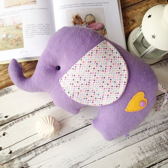Elephant pillow & toy. Light as a cloud and от HobbymamaStore