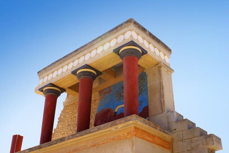 # Crète : Palais de Knossos, pour plonger dans le passé fabuleux du monde Minoen !