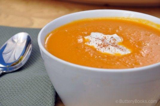 Roasted Butternut Squash Soup Recipe - Williams Sonoma