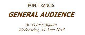 pentecost vatican 2014