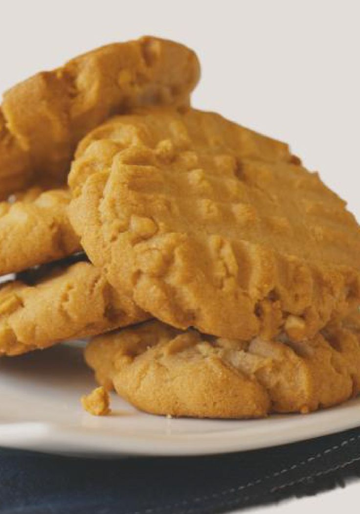Peanut Butter Cookies – Our version of the classic cookie recipe features pure, creamy peanut butter flavor—and the signature crisscross fork marks, of course.