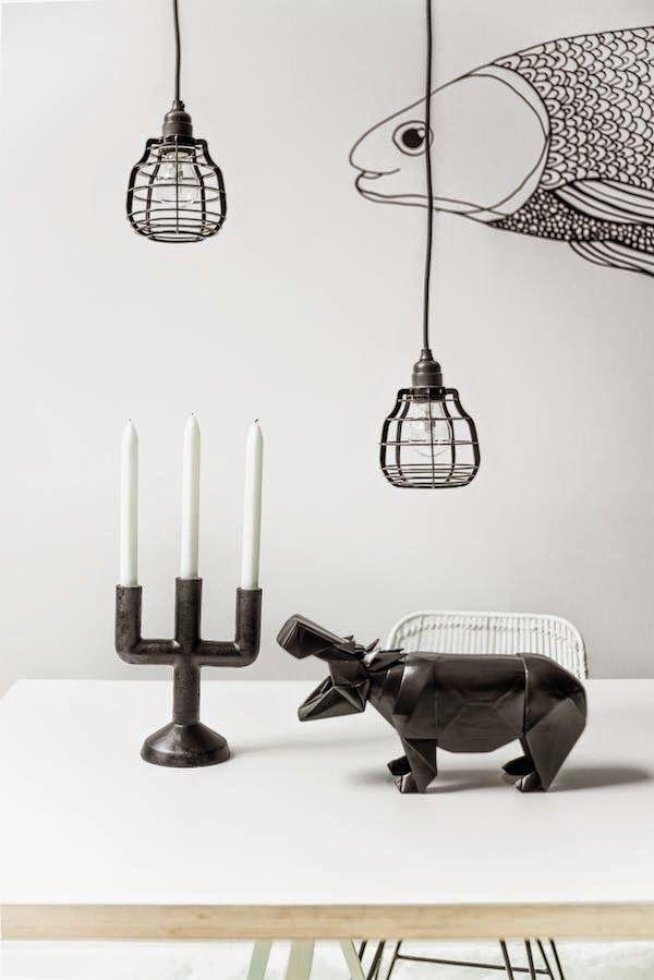 vosgesparis: Black & White for your interior | HK Living new catalog