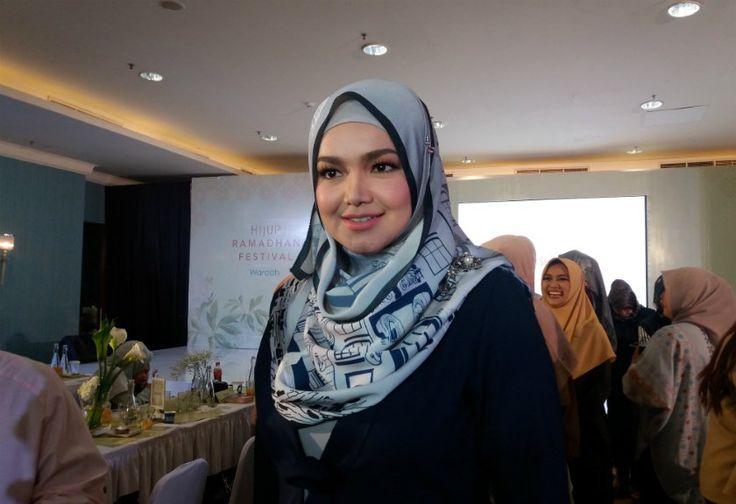Hamil, Paras Siti Nurhaliza Makin Mempesona