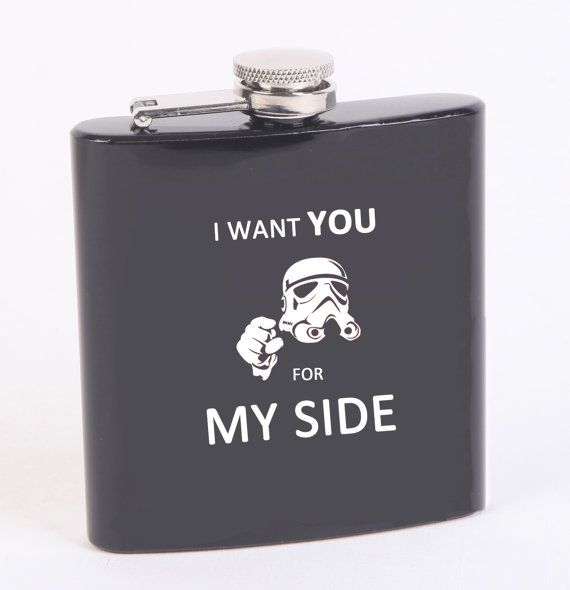 Hey, I found this really awesome Etsy listing at https://www.etsy.com/listing/220336951/star-wars-helmet-flask-star-wars-art
