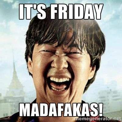 Chow Friday - Friday Meme