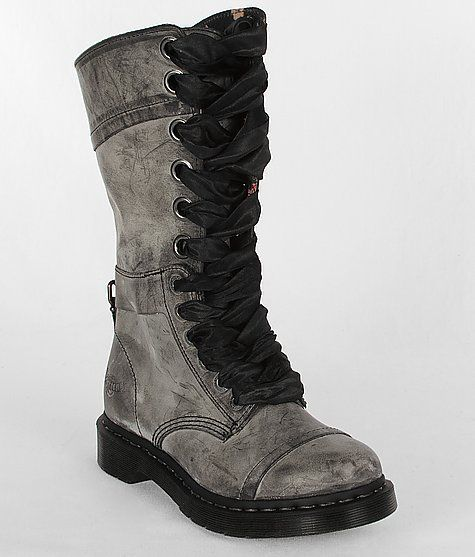 "If you're gonna wear combat boots, at least get the real deal... Dr. Martens Triumph 1914 Boot in ""black masai"""