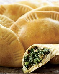 how to make spinach pie triangles