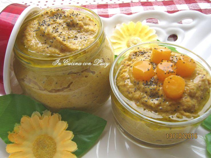 Pesto+di+zucca++mandorle+e+semi+di+papavero
