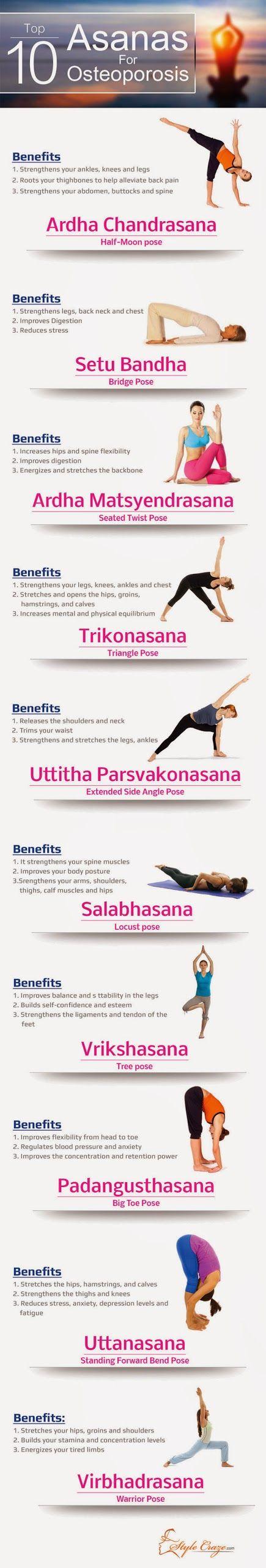 10 Yoga Asanas For Osteoporosis
