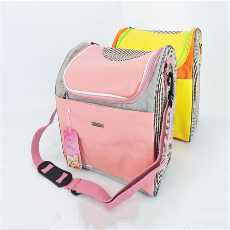 Pet Small Dog Backpack Bag Carrier Travel Handbags Accessories Chihuahua Dogs Folding Nylon Travel Bags Carriers Supplies QQM997