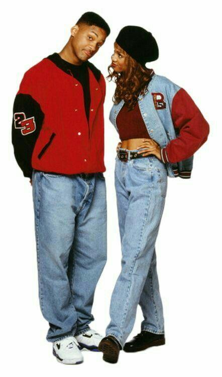 Fresh Prince Of Belair (1990-1996) Will Smith & Tyra Banks