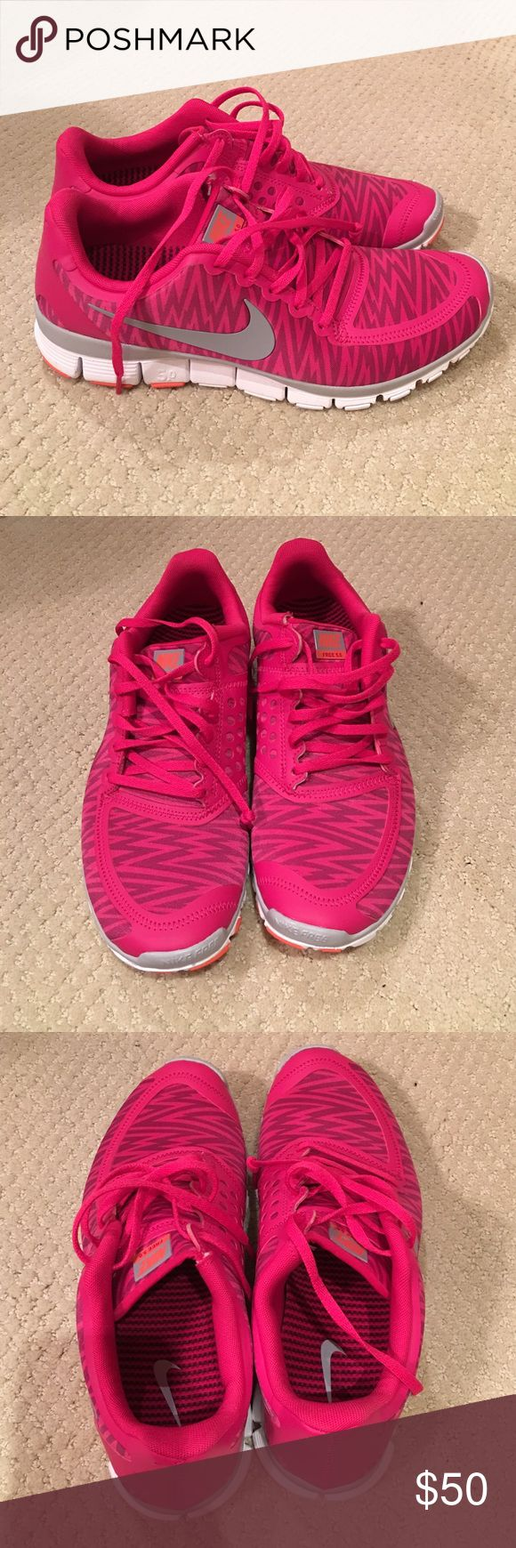 Nike Free 5.0 Pink shoes 11 Brand new Nike Free 5.0 running shoes women Size 11 sneakers, no tags but brand new never worn Nike Shoes Sneakers