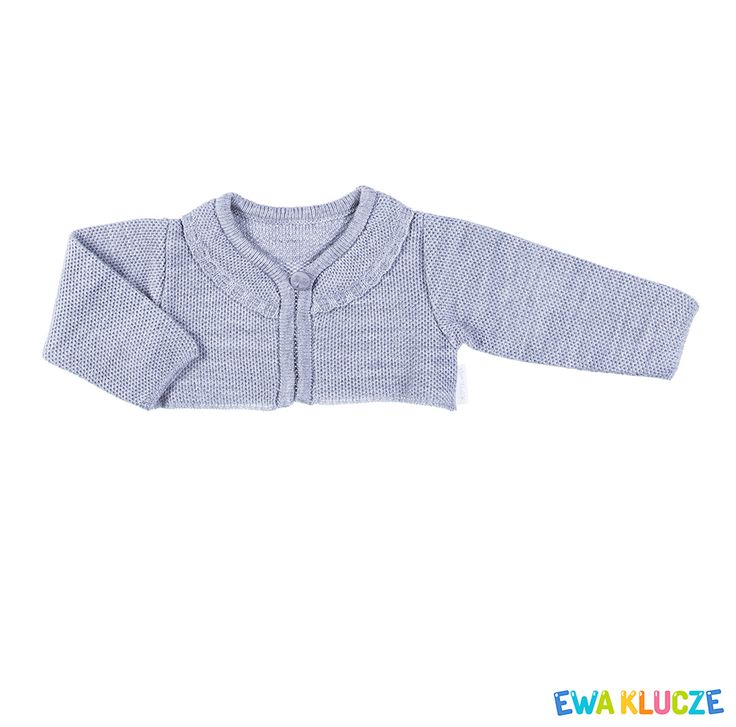 EWA KLUCZE, kolekcja ELEGANT, bolerko dla dziewczynki, ubranka dla dzieci, EWA KLUCZE, ELEGANT collection, baby girl knitwear, baby clothes