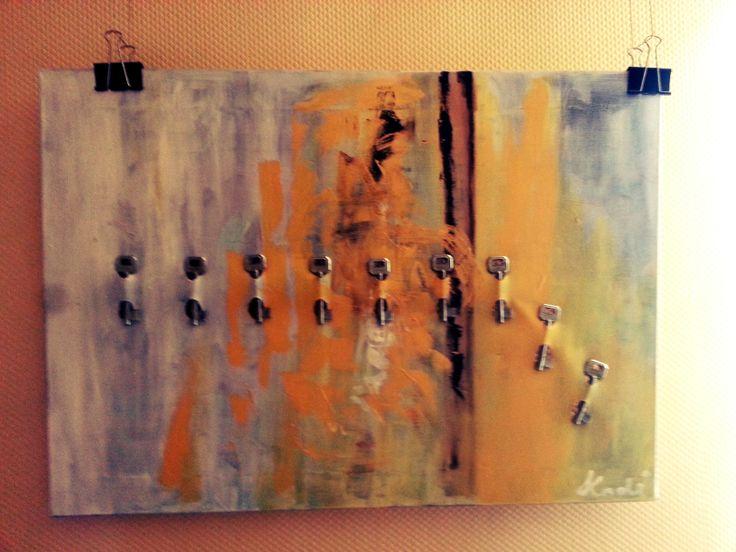 acrylic on canvas 50X70 Kodi 2012