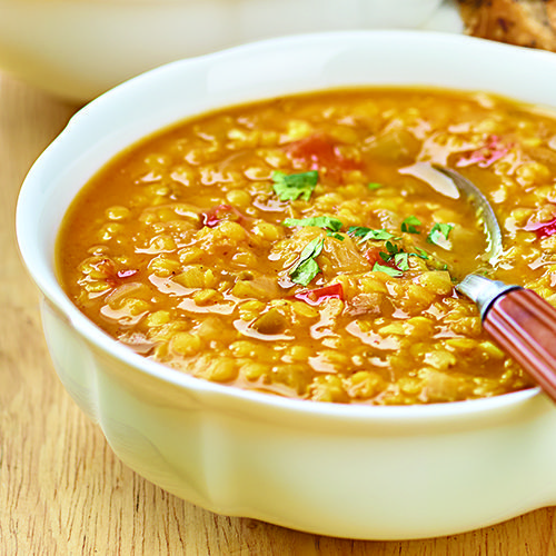 Slow-Cooked Spicy Red Lentil Chili - Wegmans
