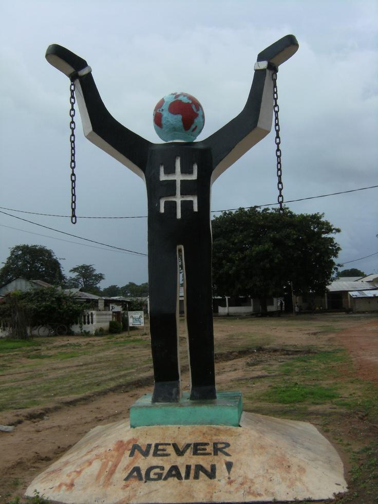 Slavery Never Again. Gàmbia