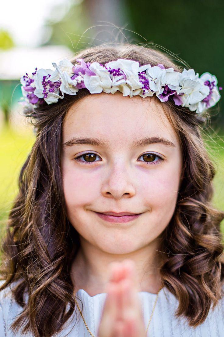 Corona para niñas de Comunión.