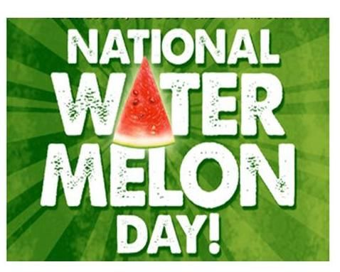 Image result for august holidays watermelon day